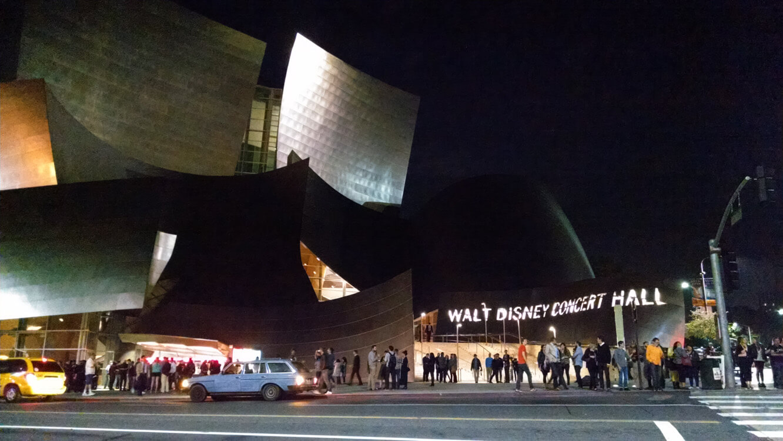 Kraftwerk 'The Catalogue' post-show at Walt Disney Concert Hall